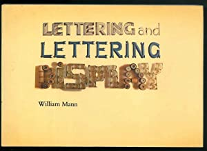 Lettering and lettering display