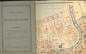 Indicateur et plans de Rome
