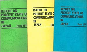 Report on present state of comunications in Japan. Fiscal 1977-1978-1979