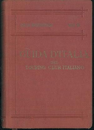 Guida d/'Italia Italia Meridionale vol III TCI 1928 L1 ^