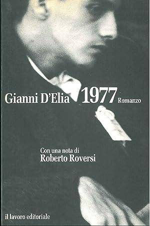 1977. Con una nota di R. Roversi: D'Elia Gianni