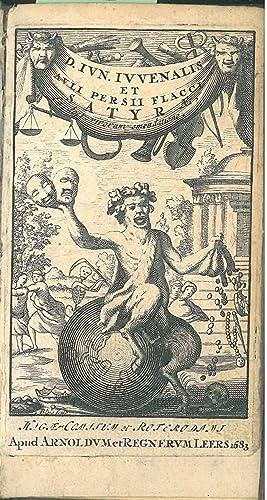D. Iun. Iuvenalis et Auli Persii Flacci: Persius Flaccus Aulus,