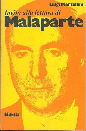 Invito alla lettura di Curzio Malaparte: Martellini Luigi