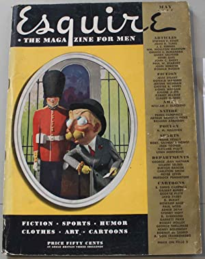 Esquire, the magazine for men. Vol. VIII, Mai 1937