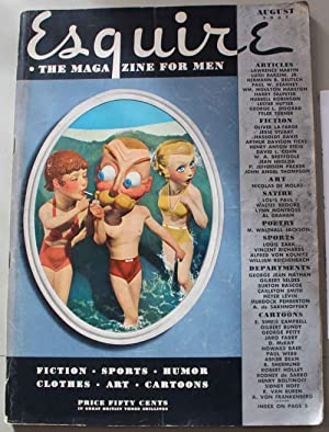 Esquire, the magazine for men. Vol. VIII, No. 8, August 1937