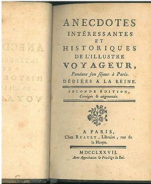 Anecdotes interessantes et historiques de l'illustre voyageur,: Du Coudray, Alexandre