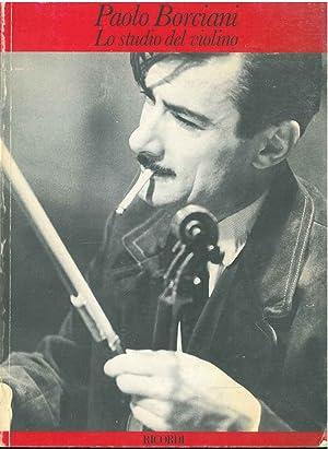 Lo studio del violino: Borciani Paolo