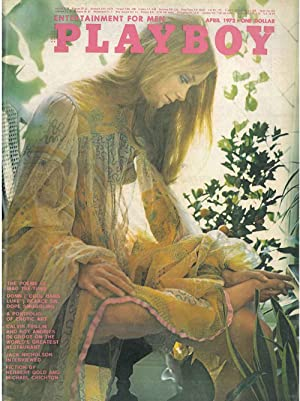 Playboy. Enterteiment for men. April 1972