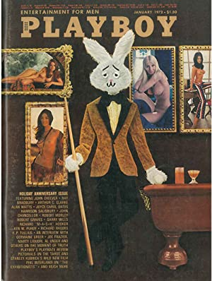 Playboy. Enterteiment for men. January 1972