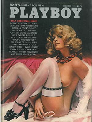 Playboy. Enterteinment for men. December 1974