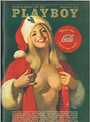 Playboy. Enterteinment for men. December 1972