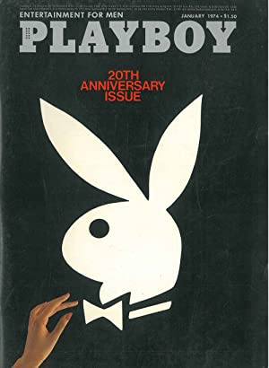 Playboy. Enterteinment for men. January 1974
