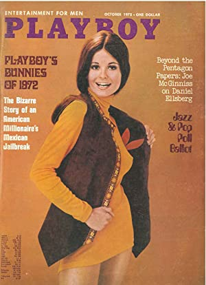 Playboy. Enterteinment for men. October 1972