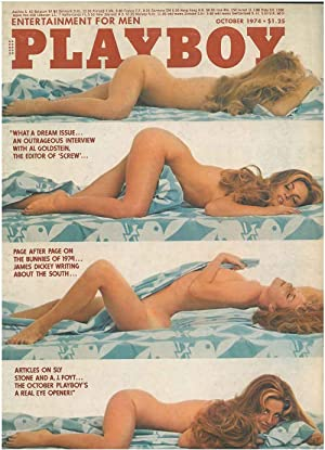 Playboy. Enterteinment for men. October 1974