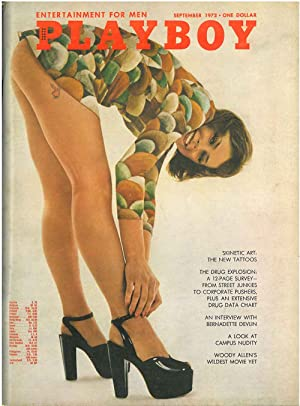 Playboy. Enterteinment for men. September 1972
