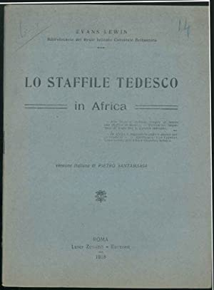 Lo staffile tedesco in Africa