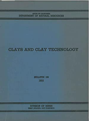 Clays and clay technology. Proceeding of the first national conference on clys and clay technolog...