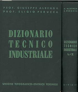 Dizionario tecnico industriale enciclopedico: Albenga Giuseppe, Perucca