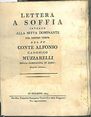 Lettera a Soffia intorno alla setta dominante