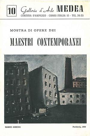 Mostra di opere dei maestri contemporanei. Galleria