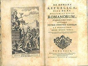 De romana republica sive de re militari: Cantel, Pierre-Joseph
