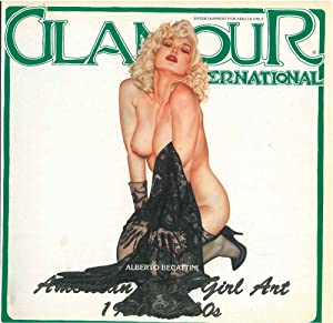 Glamour International Magazine. Numero 19. Ottobre 1992. American Good Girl Art 1950s - 1990s. En...