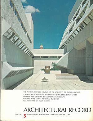 Architectural Record, n. 5, May 1972. Building Types study: Industrial buildings