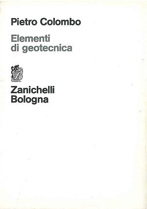 Elementi di geotecnica: Colombo Pietro