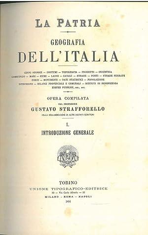 Introduzione generale: La Patria. Geografia dell'Italia: Strafforello Gustavo
