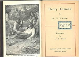Henry Esmond. Illustrated by A. A. Dixon
