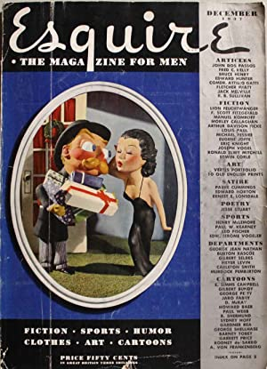 Esquire. The magazine for men. December 1937 Articolo di F. Scott Fitzgerlad