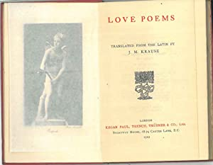 Latin Love poems