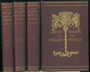 Short history of the english people. Illustrated edition edited by Mrs. J. R. Green and Miss Kate...