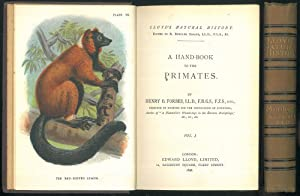 A hand-book to the primates.