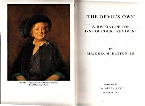 Devils Own a History of the Inns Signed: Hatton, D M