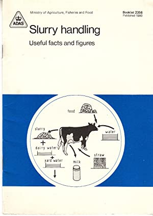 Slurry Handling | Useful Facts & Figures | MAFF Booklet 2356, published 1980