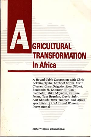 Agricultural Transformation in Africa