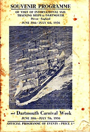 Souvenir Programme | Visit of International Sail Training Ships to Dartmouth, Devon, England June ...