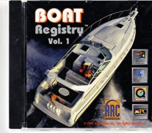 Boat Registry Volume 1 | CD Rom 1995: Media, Arc