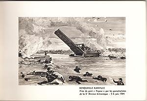 Combats du 6 juin 1944. Texte de Francois Lemonnier-Gruhier. 16 Compositions Hors-Texte de H. ...