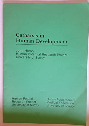 Catharsis in Human Development | Human Potential Research Project, University of Surrey: Heron, ...