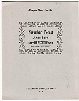 November Forest | Poem by Anne Born: Anne Born, Solveig