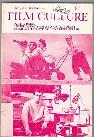 Film Culture no 56 - 57 Spring: Jonas Mekas (editor)