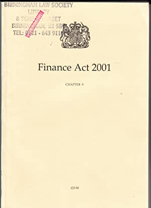 Finance Act 2001 (Public General Acts - Elizabeth II): Office, The Stationery