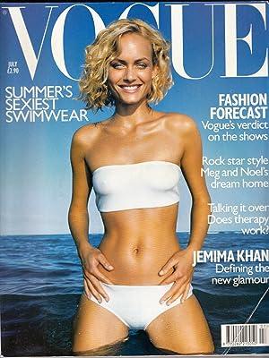 Vogue (UK) July 1998 | Amber Valletta: Nast, Conde