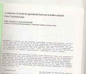 A Reflection of Medieval Agricultural Land Use in Pollen Analyses from Czechoslovakia | Academic ...