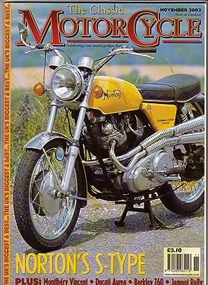 The Classic Motorcycle ( UK Magazine) November: Gerard Kane (ed)
