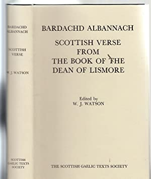 Scottish Verse from the Book of the: William J Watson
