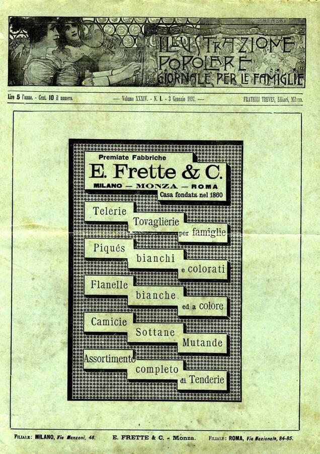 L 39 illustrazione popolare n 1 1897 giornale per le famiglie - Vendere casa popolare riscattata ...