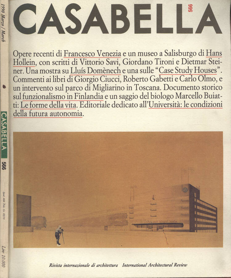 Casabella n. 566 Rivista internazionale di architettura - AA. VV.
